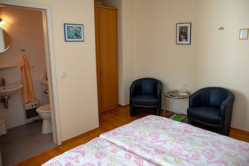 Doppelzimmer Sitzecke