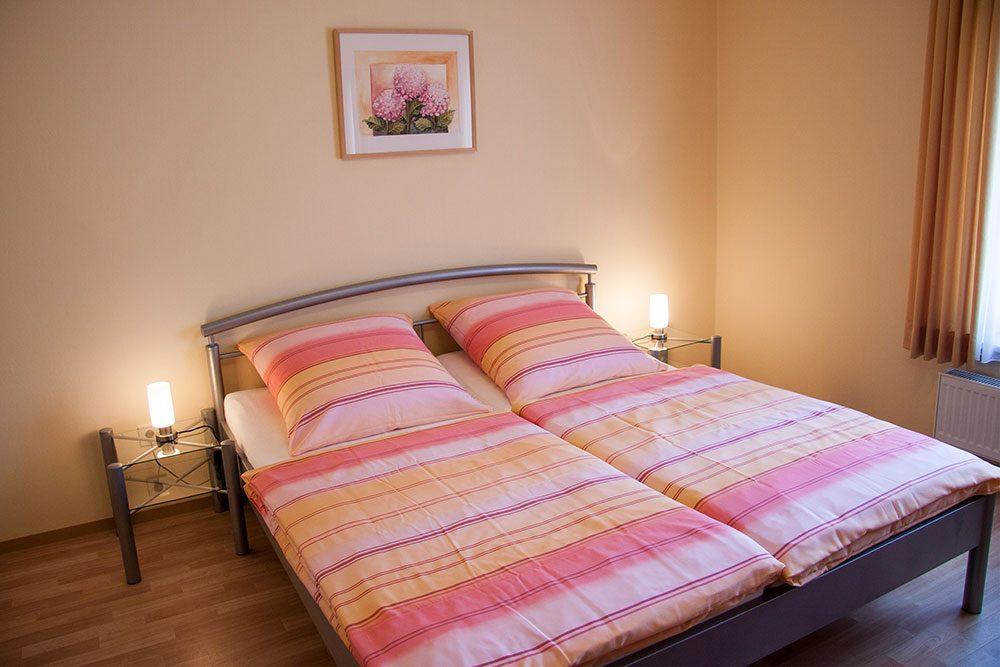 Ferienwohnung Schlafzimmer