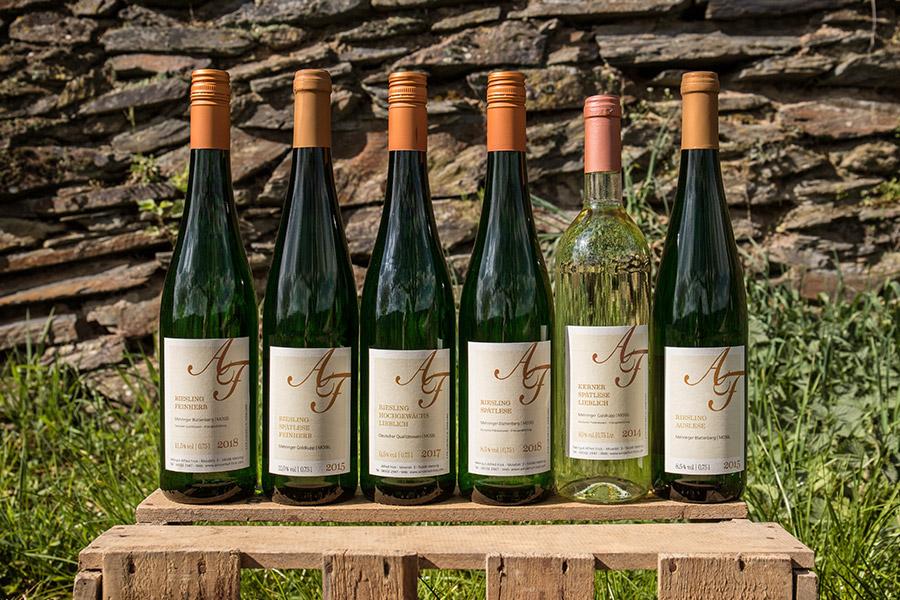 Weine für Online-Weinprobe